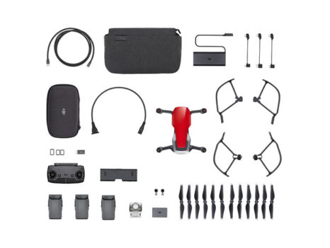 DJI MAVIC AIR FLY MORE COMBO ROSSO FLAME RED