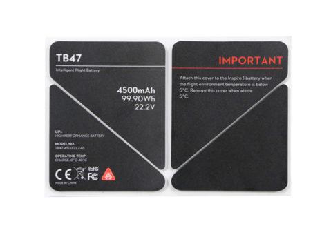 DJI Adesivo Protettivo Batteria TB47 Inspire 1