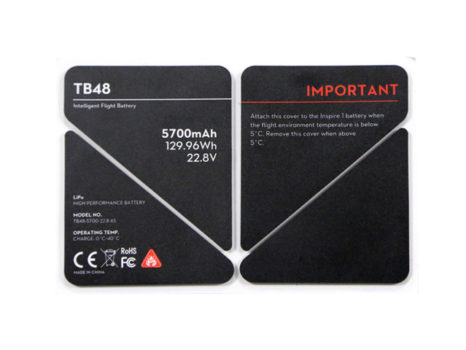 DJI Adesivo Protettivo Batteria TB48 Inspire 1
