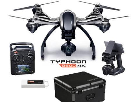 Yuneec Typhoon Q500 4K con 2 Batterie e Valigia Alu