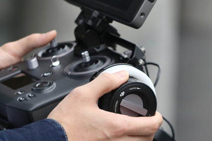 DJI Supporto Focus Handwheel 2 per Cendence