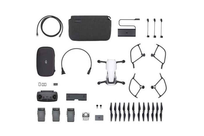 DJI MAVIC AIR FLY MORE COMBO BIANCO