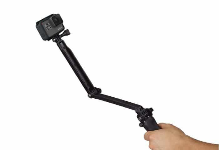 GoPro 3-Way Treppiede, Maniglia e Camera Arm