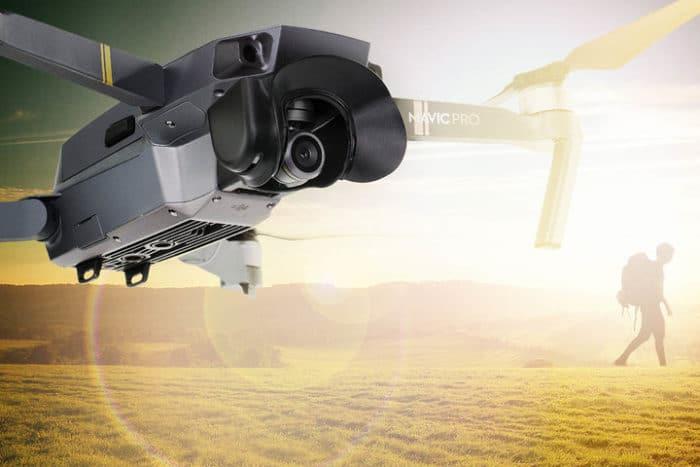 PGYTECH Paraluce Camera per DJI Mavic Pro