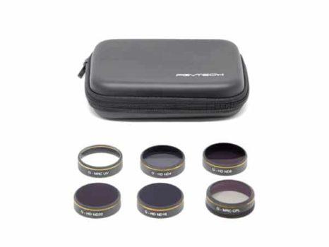 PGYTECH Kit Filtri (UV/ND4/8/16/32/CPL) per Phantom 4 Pro
