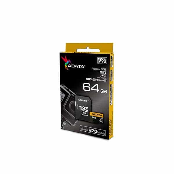 Micro SD 64Gb Adata Premier One 8k V90