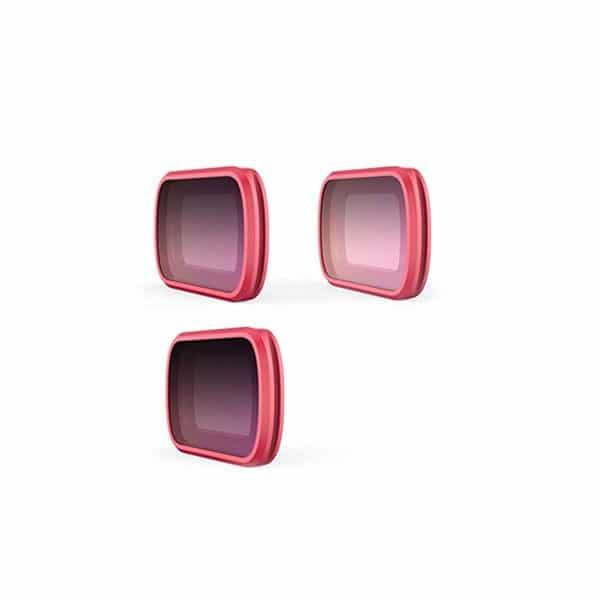 PGYTECH Filtri per OSMO Pocket - GND SET Pro (ND8-GR, ND16-4, ND32-8)