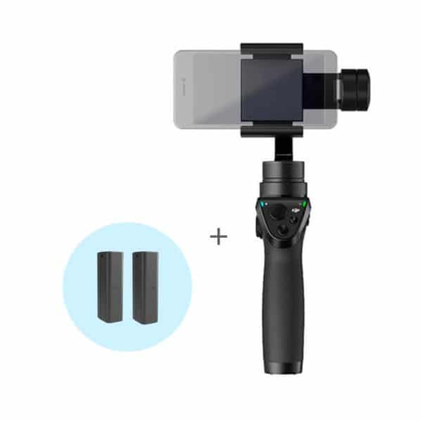DJI OSMO MOBILE CON DUE BATTERIE