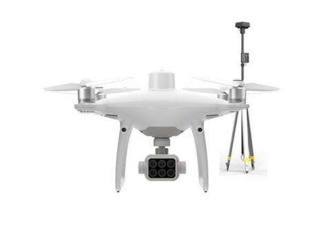 DJI PHANTOM 4 MULTISPECTRAL + D-RTK2 GNSS MOBILE STATION
