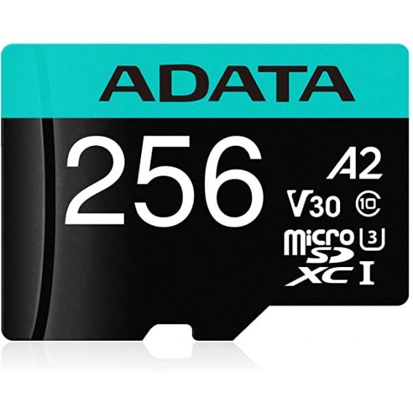 MICRO SD 256Gb ADATA PREMIER PRO A2 V30S