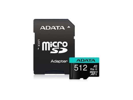MICRO SD 512Gb ADATA PREMIER PRO A2 V30S